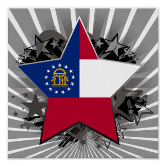 Georgia Star Print
