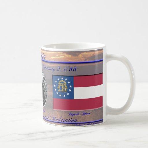 Georgia State Commemorative Coffee Mug