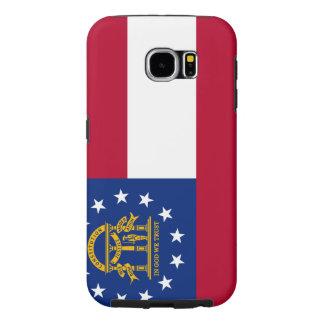 Georgia State Flag Samsung Galaxy S6 Cases