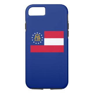Georgia State Flag Design iPhone 7 Case