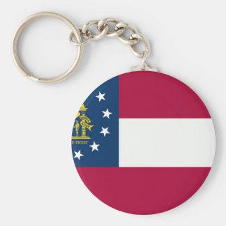 Georgia State Flag Keychain