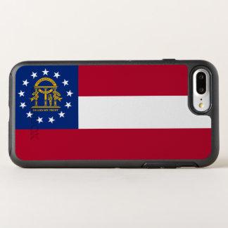 Georgia State Flag OtterBox Symmetry iPhone 7 Plus Case