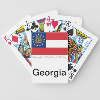 Georgia State Flag Playing Cards