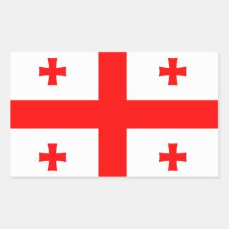 Georgia State Flag Sticker