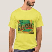 Georgia State GA Old Vintage Travel Souvenir T-Shirt