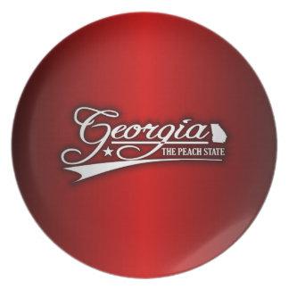 Georgia State of Mine Plate