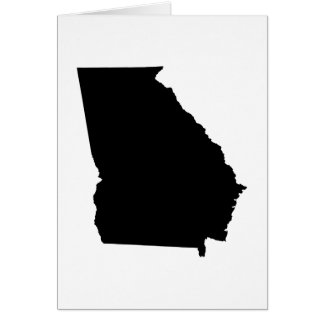 Georgia State Outline Card