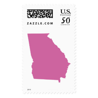 Georgia State Outline Postage