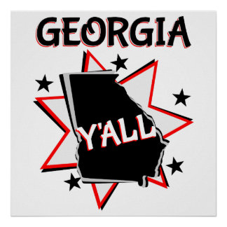 Georgia State Pride Y'all Poster