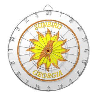 Georgia Sunbird Shield Dartboards