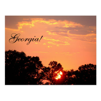 ¡Georgia! Tarjetas Postales