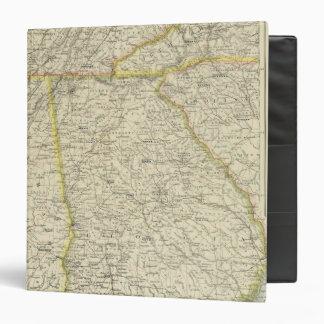 """Georgia, Tennessee, Alabama Carpeta 1 1/2"""""""