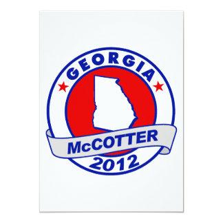 Georgia Thad McCotter Card