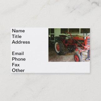 Georgia Tractor Business Card