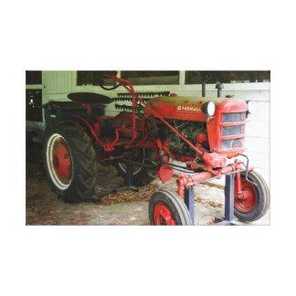 Georgia tractor canvas print