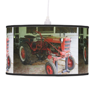 Georgia Tractor Hanging Lamp