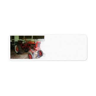 Georgia Tractor Custom Return Address Labels