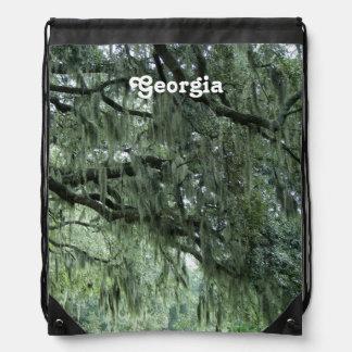 Georgia Trees Drawstring Bags