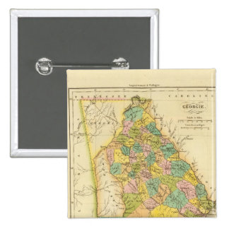 Georgia US Pinback Buttons