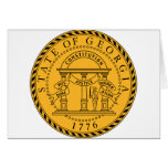 Georgia, USA Card