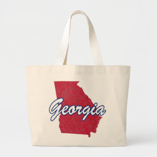 Georgia (USA) Large Tote Bag