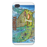Georgia USA Map iPhone 4/4S Covers