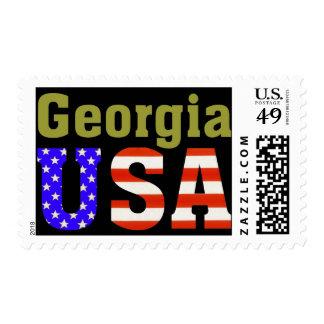 Georgia USA! Postage