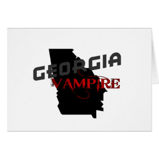 Georgia Vampire Greeting Card