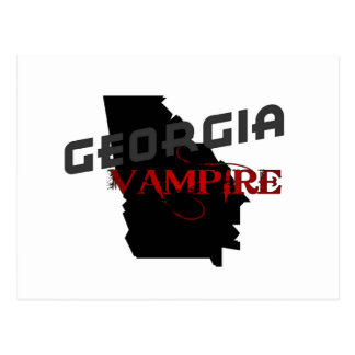Georgia Vampire Postcard