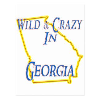 Georgia - Wild and Crazy Post Card