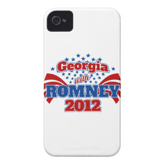 Georgia with Romney 2012 iPhone 4 Covers