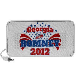 Georgia with Romney 2012 Notebook Speaker