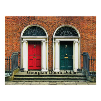 Georgian Doors Poster