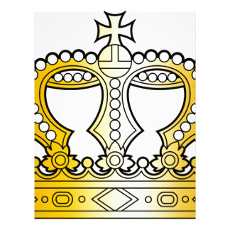 Georgian_golden_crown_with_pearls_and_cross Letterhead