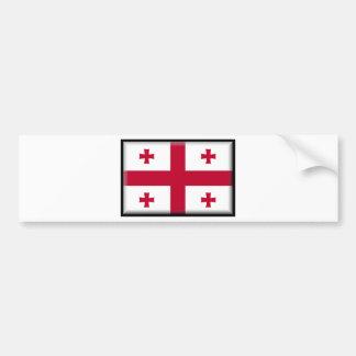 Georgian Republic Flag Bumper Sticker