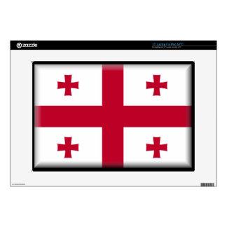 "Georgian Republic Flag 15"" Laptop Skin"