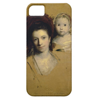 Georgiana, Countess Spencer and her Daughter Lady iPhone SE/5/5s Case