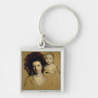 Georgiana, Countess Spencer and her Daughter Lady Keychain