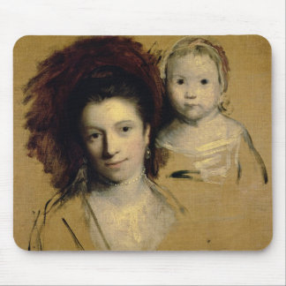 Georgiana, Countess Spencer and her Daughter Lady Mouse Pad