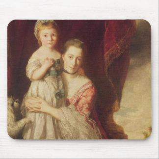 Georgiana, Countess Spencer with Lady Mouse Pad