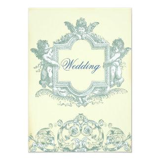 Georgiana (Cream) Wedding Card