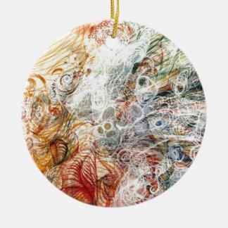Georgiana Houghton Ceramic Ornament