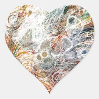 Georgiana Houghton Heart Sticker