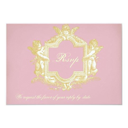 Georgiana (Peony Pink) RSVP Card