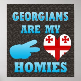 Georgians are my Homies Poster