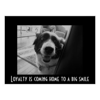 georgiapeeking, Loyalty is coming home to a big... Posters