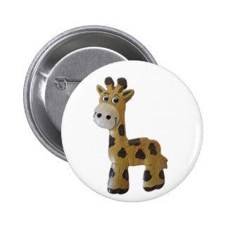 Georgie Giraffe Button