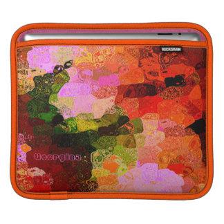 Georgina colorful iPad sleeve