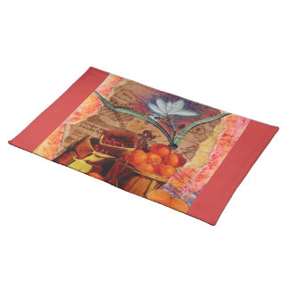 Georgraphy of Dinner Placement Cloth Placemat