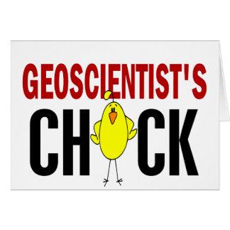 Geoscientist's Chick 1 Greeting Cards